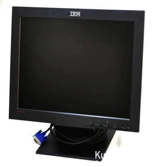 "17"" LCD Monitor IBM ThinkVision L170+kabli"