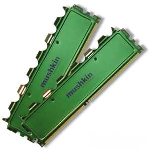 2x2GB DDR2 800 Mushkin Green