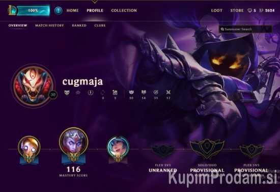 League of Legends Unranked Account