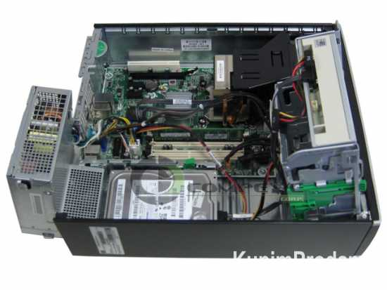 HP 8000 Elite SFF:C2D E8400,160gb hdd,dvdrom