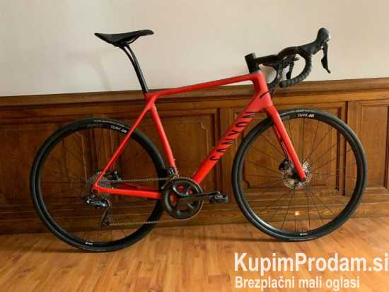 Beautiful Canyon Endurace CF SLX 8.0 Bike - Size L - Red Carbon - Disc