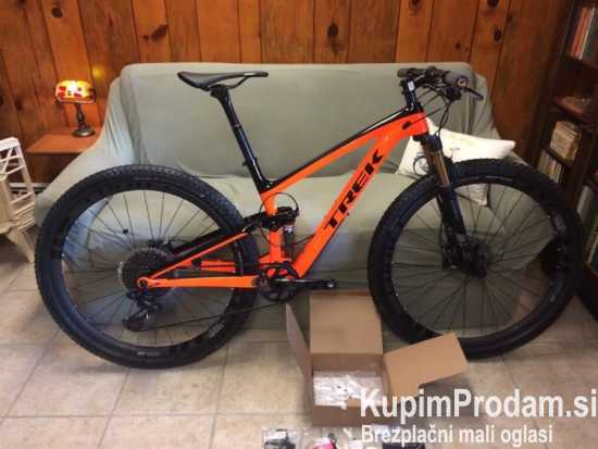 2018 Trek Top Fuel 9.9 RSL 17.5 Project One Carbon XX1 Eagle DT Swiss